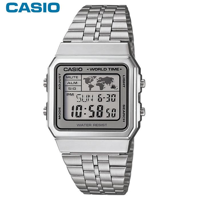 Casio World Map Watch.Casio Digital World Map A500wea 7ef Men S Watch Man Watches