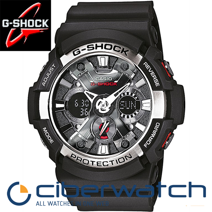 b847c2903d78e Reloj Casio G-Shock Anadigi GA-200-1AER WR200m   Man Watches