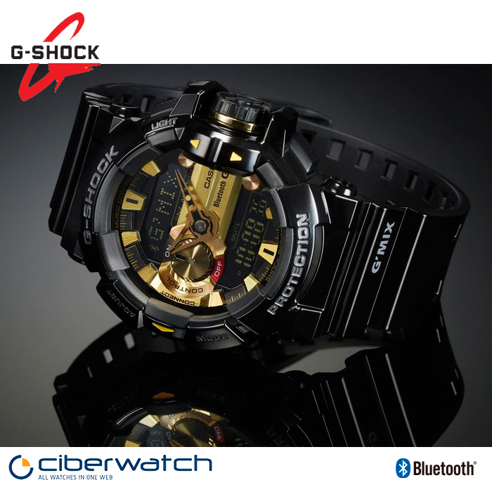 4a7f707ea6f Casio G-Shock G Mix Music Watch GBA-400-1A9ER with Bluetooth   Man Watches
