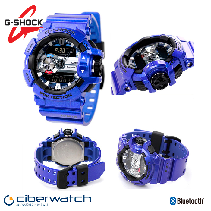 2e3a4b66819 Casio G-Shock G Mix Music Watch GBA-400-2AER with Bluetooth   Man Watches