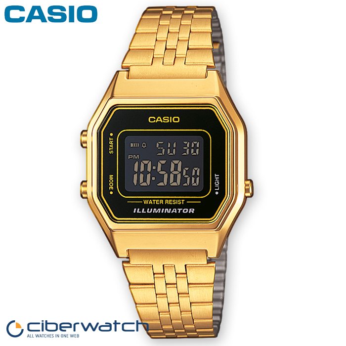 a9dc86bc5a71 Casio Retro Golden LA680WEGA-1BER Women´s Watch Waterproof   Women Watches
