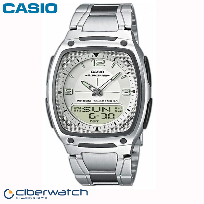 7aves Aw Reloj Anadigi Casio 81d Telememo OikTPuXZ