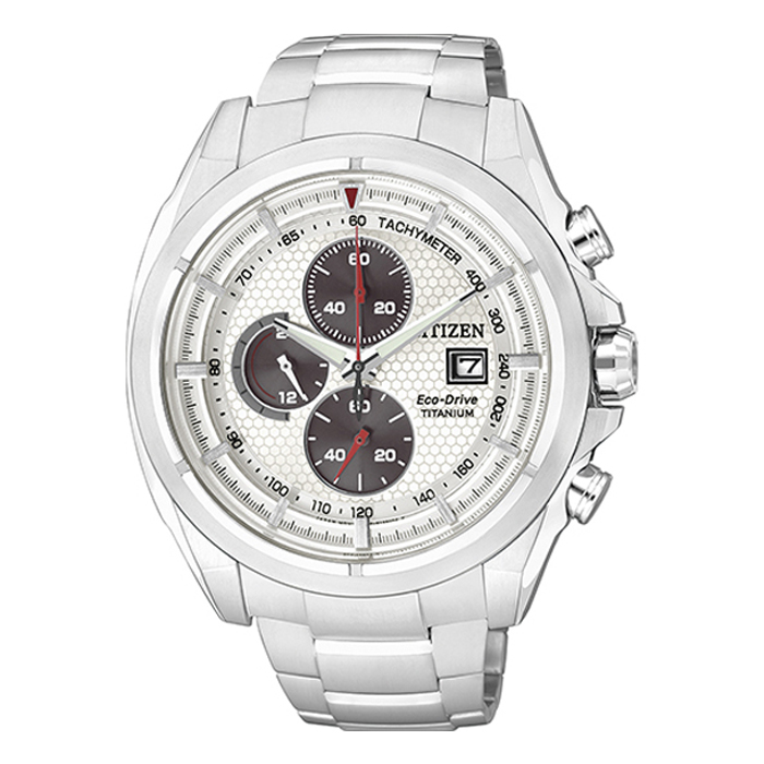 c5b91c819d76 Citizen Eco Drive Super Titanium Chronograph Watch CA0550-52A   Man ...