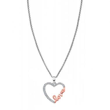 Lotus Silver Heart/infinite LP1595-1/2 Silver 1st Law Women´s Collar