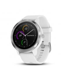 Garmin Vivoactive 3 With White Band and Stainless Steel