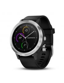 Garmin Vivoactive 3 With Black Band and Stainless Steel
