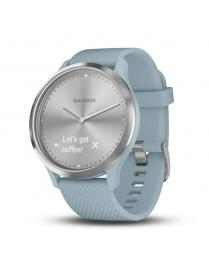 Garmin Vivomove HR Sport Silver Light Blue Band